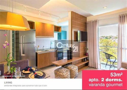 Aptos Em Salto - 2 Dormitórios  Varanda Gourmet  Condomínio Com Clube Lazer  A Partir De R$239.000,00. Consulte-nos! - Ap0209