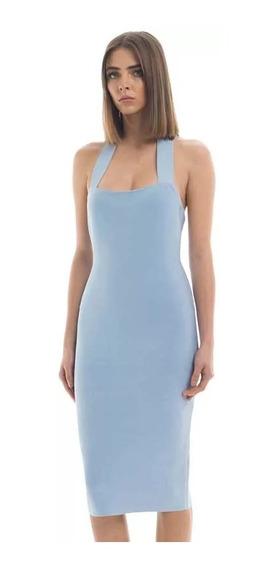 Vestido Mujer Bandage Hl 3 Colores Xs S M L