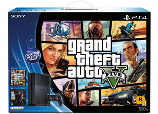 Ps4 Playstation 4 Gta V Grand Theft Auto 5 Nuevos