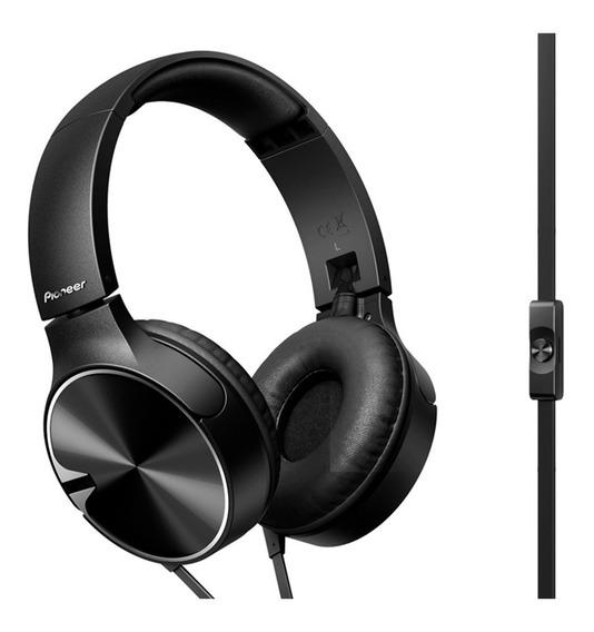 Auriculares Pioneer Negro Vincha Plegables C/mic Se-mj722t