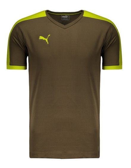 Camiseta Puma Pitch Marrom
