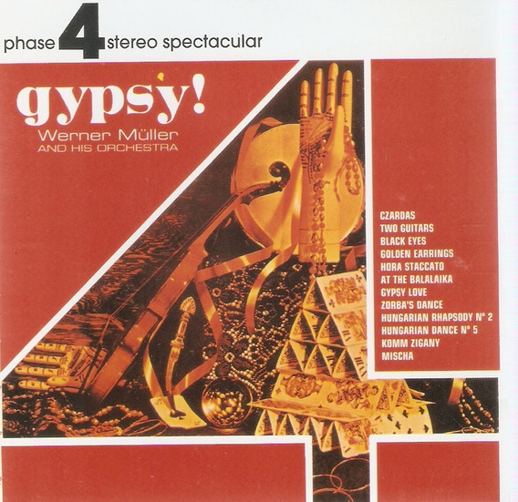 Cd Gypsy! - Werner Müller And His Orchestra - Novo***