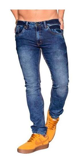 Jeans Hombre Caballero Casual Skinny Stone Vivos Contrastes