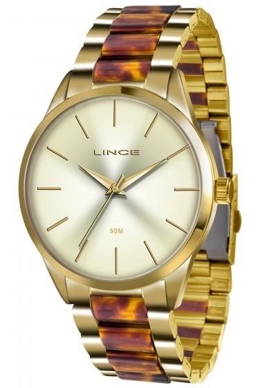 Relógio Lince Lrt4381l C1nk Urban Feminino Champa- Refinado