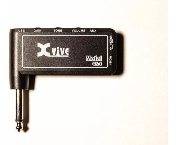 Amplificador Auriculares Xvive Ga-4 Metal Para Guitarra/bajo