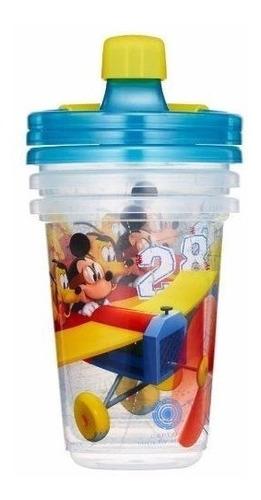 Set 3 Vasos De Mickey Mouse Disney 10oz / 296ml
