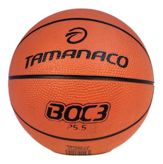 Balón De Basket #3 Caucho Boc3 Tamanaco