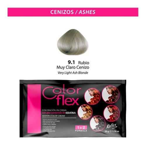 Color Flex / Rubio Muy Claro Cenizo 9.1 (cfn9.1)