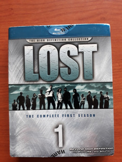 Lost: The Complete First Season Blu Ray (widescreen, 7 Disc