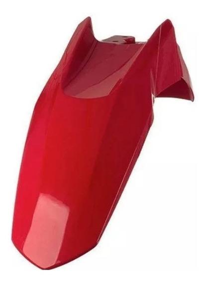 Guardabarro Delantero Zanella Zr 200 Rojo Pro Tork Sportbay