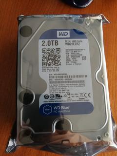 Hdd Disco Western Digital Blue 2 Tb