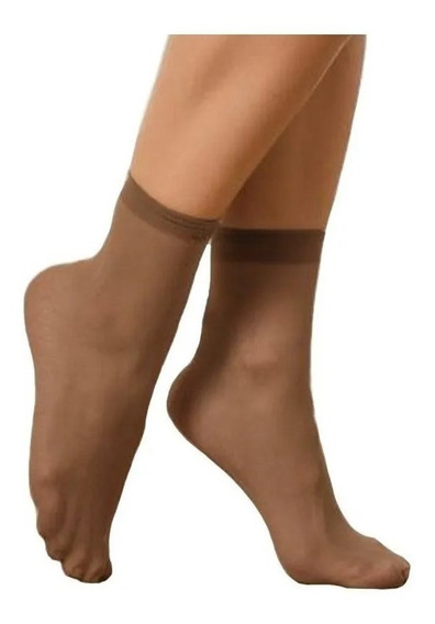 Medias Lupo Loba Soquete Lycra Para Pantalón Mujer Art.5530