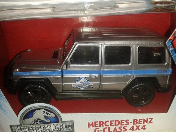 Miniatura Mercedes Benz G Class 4x4 Jurassic Park Nova !!!