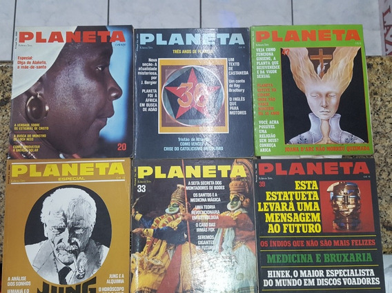 Revistas Planeta Antigas