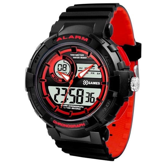 Relógio X-games Masculino Anadigi Xmppa263