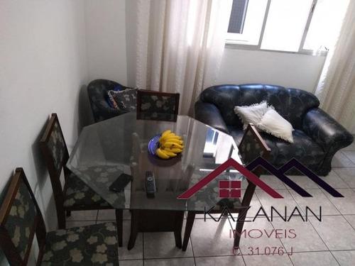 Apartamento Dois Dormitórios No Boqueirão - Santos/ S.p - 1701
