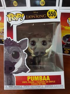 Funko Pop Pumbaa 550 El Rey Leon