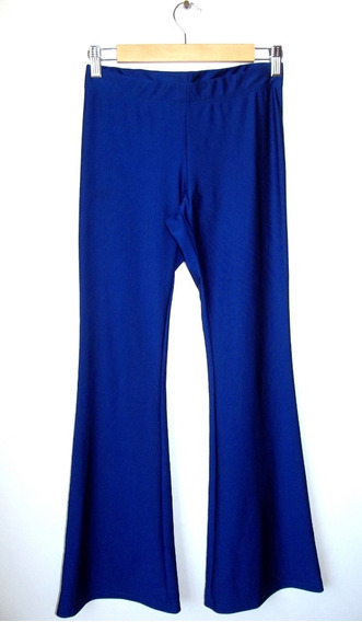 Calza Oxford Lycra Azul Talle L Sin Uso Impecable Estado