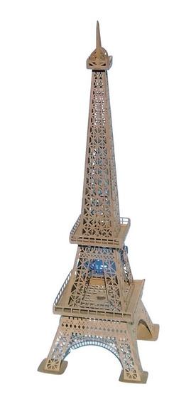 3x Torre Eiffel Mdf 3mm 1,15m - 3d Para Montar