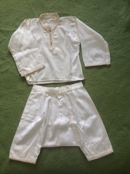 Traje Tipo Arabe De Vestir Para Niño Talla 2 Nuevo
