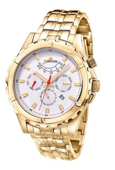 Relógio De Pulso Magnum Masculino Automático Ma33988h