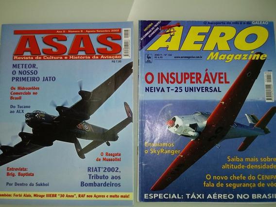 Revistas Aviaçao Diversas