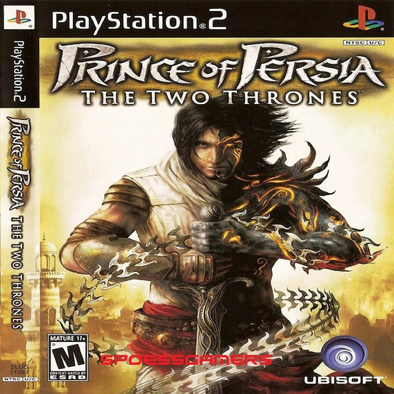 Prince Of Persia The Two Thrones Ps2 Desbloqueado Patch