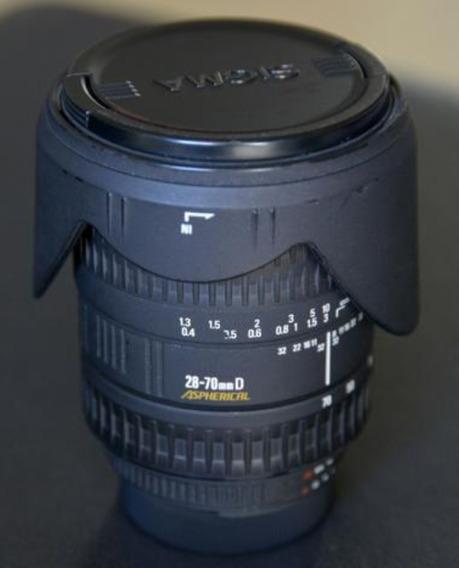 Lente Sigma 28-70 F2.8d Asfherical Para Nikon