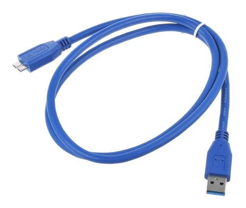 Imagen 1 de 4 de Cable De 3 Pies Usb 3.0 Dc/pc Cargador Cable De Sincronizaci