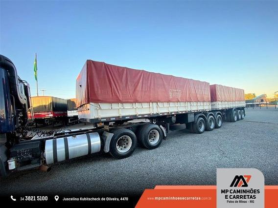 Conjunto Bitrem Graneleiro 9 Eixos + Scania G 420