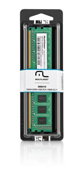 Memoria Udimm Ddr3 4gb 1600 Mhz Pc3-12800 Mm410 Multilaser