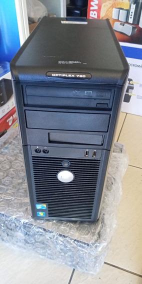 Desktop Dell Optiplex 780 Core 2 Duo 2gb 250gb Novo