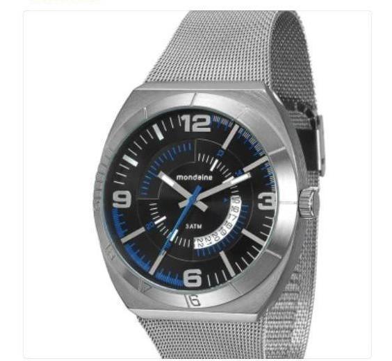 Relógio Masculino Mondaine Novo