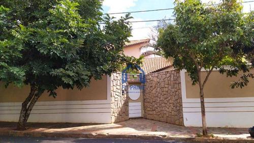 Casa Com 4 Dormitórios À Venda, 424 M² Por R$ 980.000,00 - Jardim Aclimação - São José Do Rio Preto/sp - Ca1863