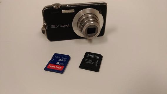 Câmera Digital Casio Exilim Ex-zs10 14.1 Mp