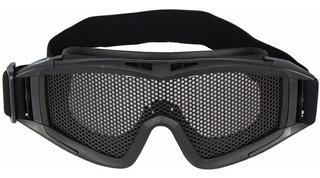 Óculos De Proteção Airsoft C/ Tela Metálica Nautika Promoção