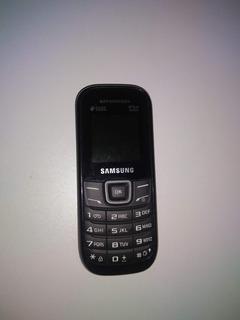 Celular Samsung Gt E1207 Duos Preto