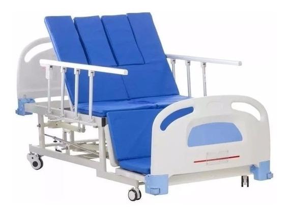 Cama Hospitalaria Manual Y Silla Cardiaca Con Cómodo