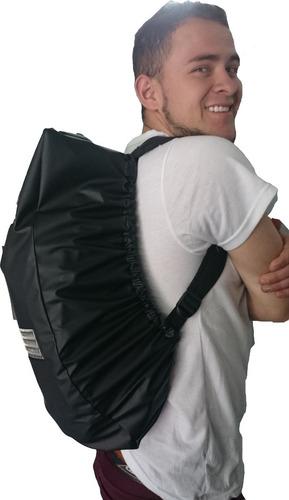 Forro Cover Bag Impermeable Para Maleta Moto Cuellero Gratis