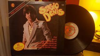 Sergio Denis 16 Grandes Exitos Lp Disco Vinilo Ex