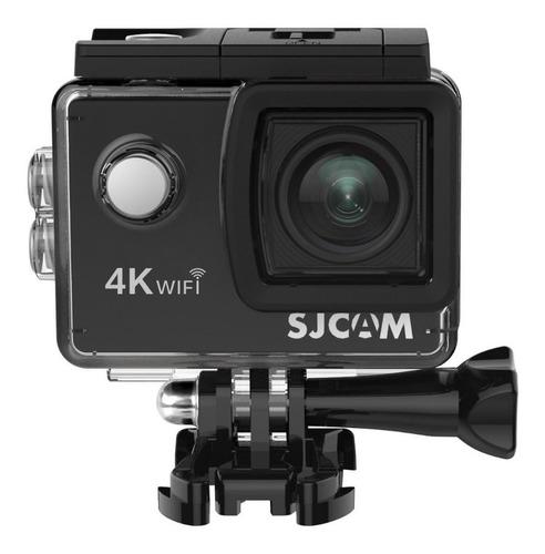 Imagem 1 de 2 de Câmera sportiva Sjcam SJ4000 Air 4K preta