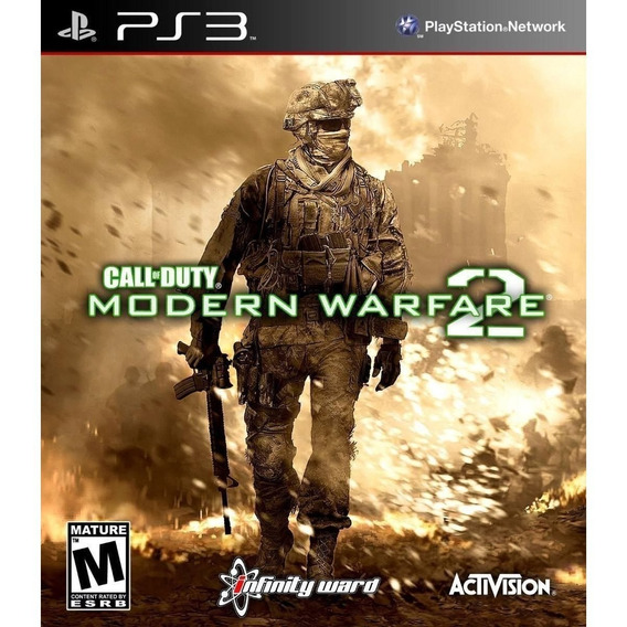 Call Of Duty Modern Warfare 2 Ps3 - Original Importado Japão