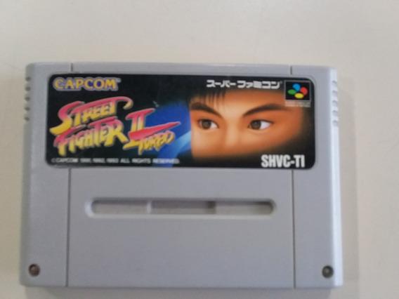 Jogo Sfc Street Fighter 2 Turbo Original- Frete Grátis