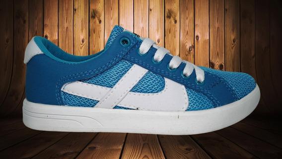 Tenis Panam 22 - 26 010132 0079 Azul Turqueza