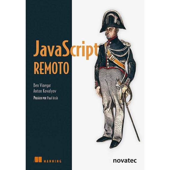 Livro Javascript Remoto - Novatec (seminovo)