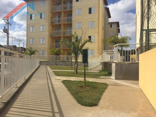 Apartamento A Venda No Bairro Jardim Tatiana Em Votorantim - - Ap 220-1