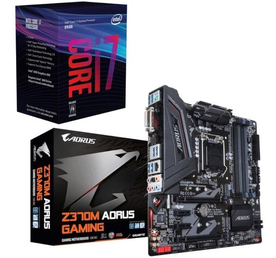 Kit Upgrade Intel I7 8700 Gigabyte Aorus B360m Gaming 3