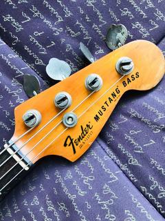 Vintage Fender Mustang Bass 1978 Natural