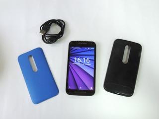 Smartphone Moto G 3ª Geração Colors Xt1543 Funcionando 100%