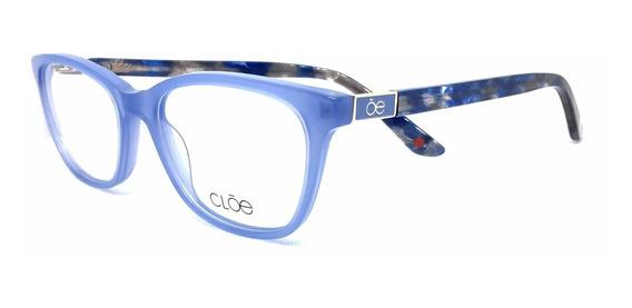 Lentes Armazón Oftalmico Cloe Acetato Azul